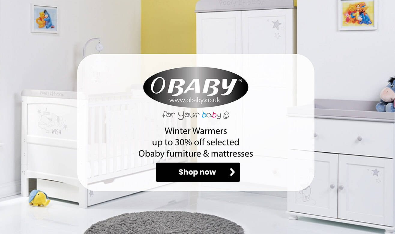 Up to 30% off Obaby Winter Warmers