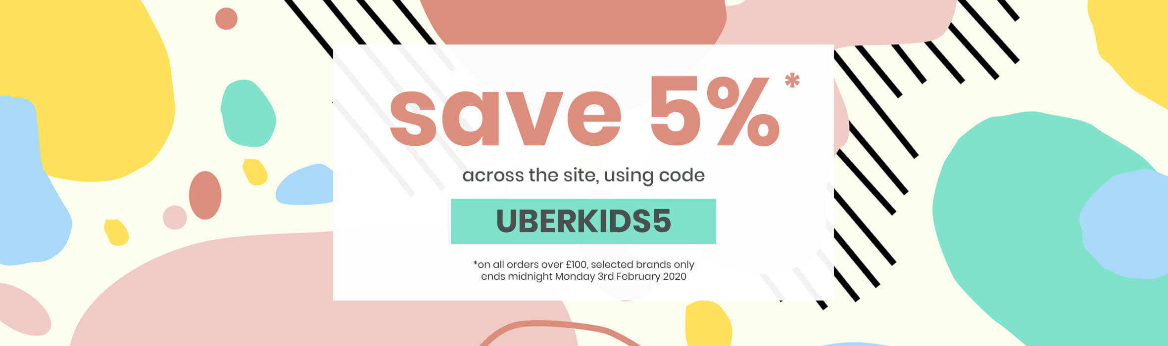 Save 5% with Code UBERKIDS5