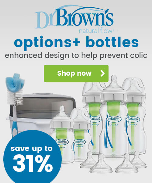 Dr Brown Options+ Bottles