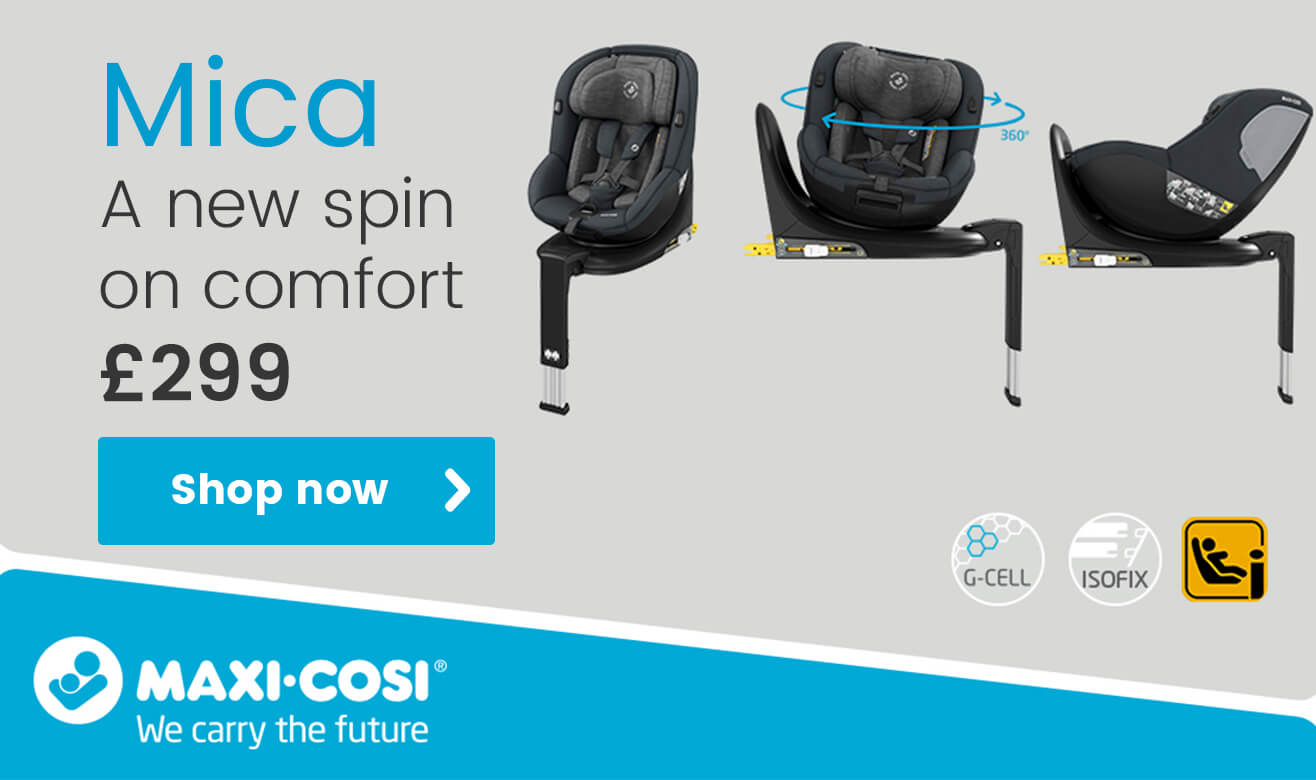 Maxi-Cosi Mica - A New Spin on Comfort