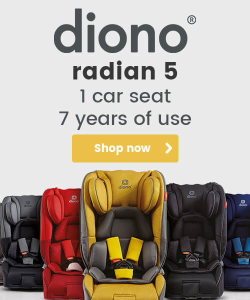 Diono Radian 5 - 1 car seat - 7 years of use