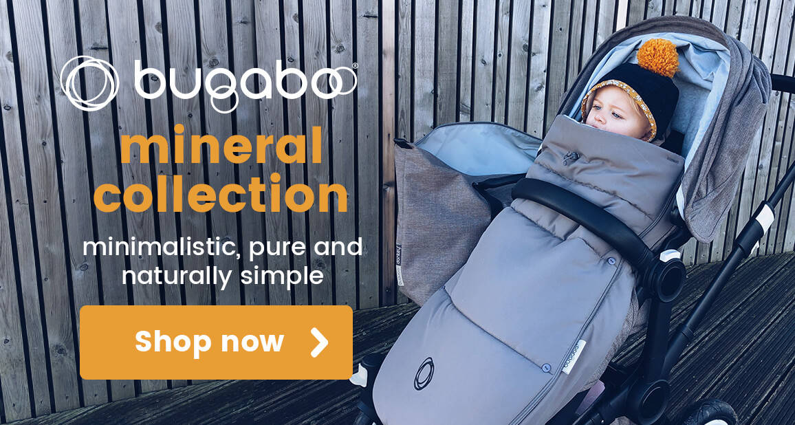 Bugaboo Mineral Collection - Minimalistic, pure and naturally simple