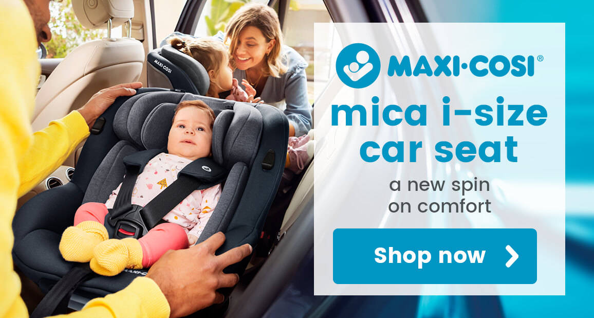 Maxi Cosi Mica i-Size Car Seat - A new spin on comfort