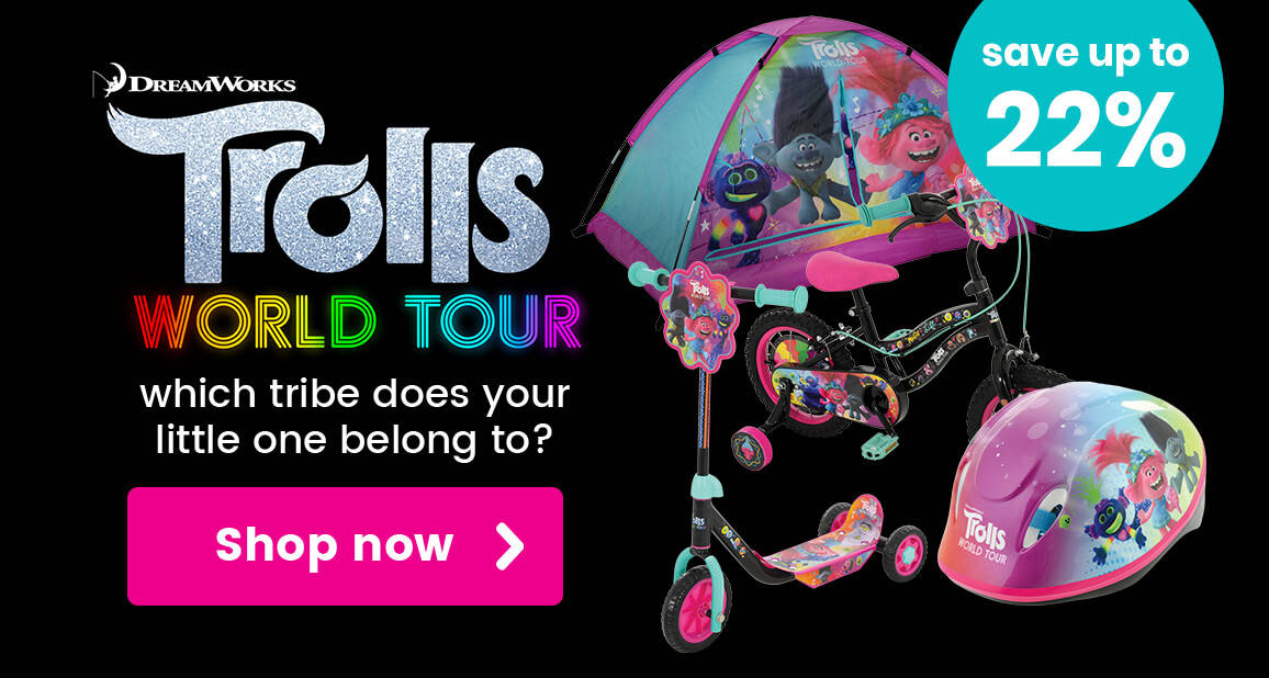 Up to 22% off Trolls world Tour