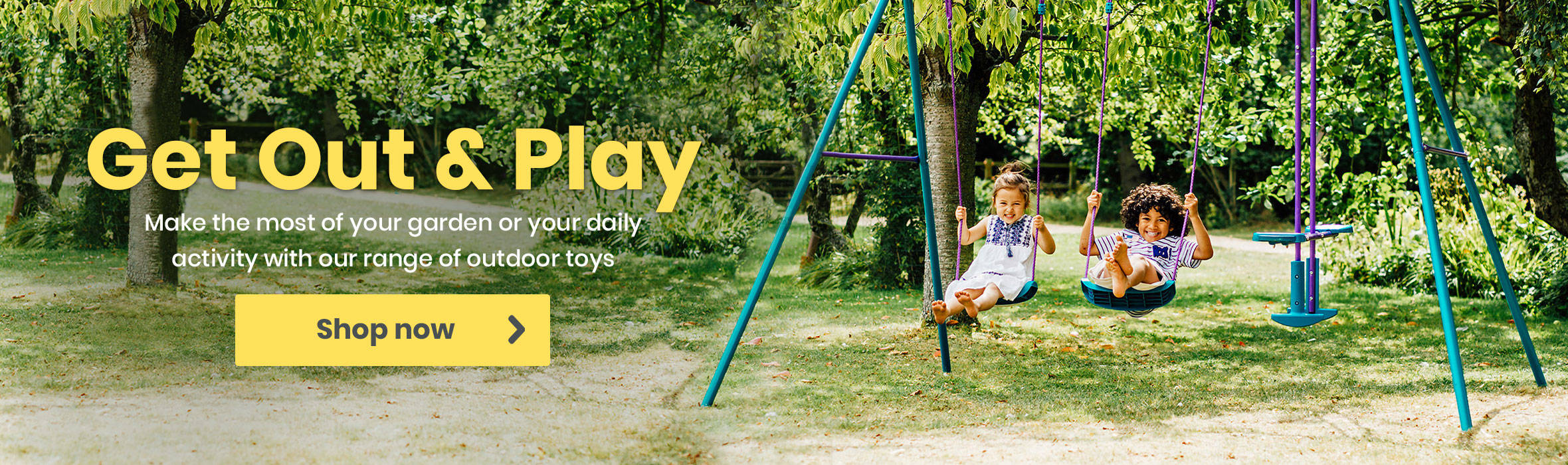 Get Out & Play and Save up to 50%