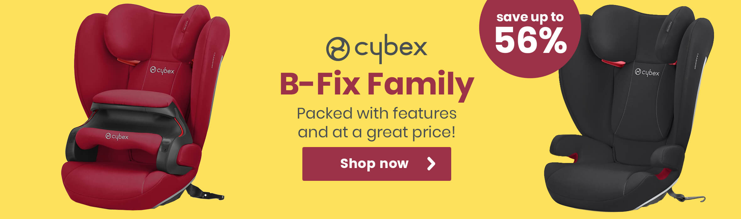 Cybex B-Fix family - Save up to 56%