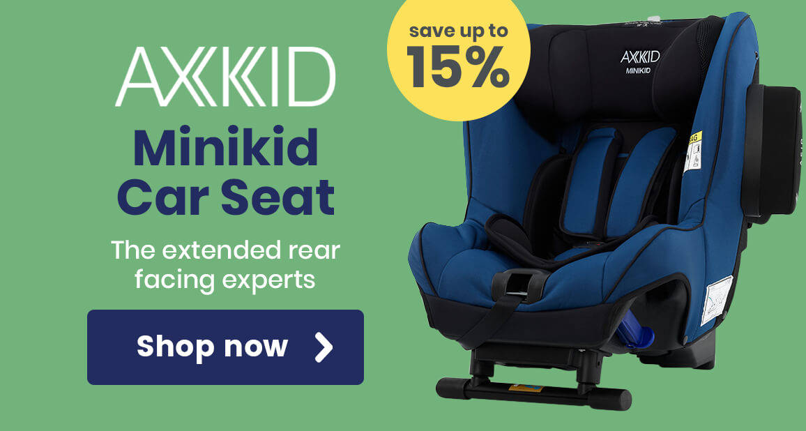 Up to 15% off Axkid Minikid Car Seats