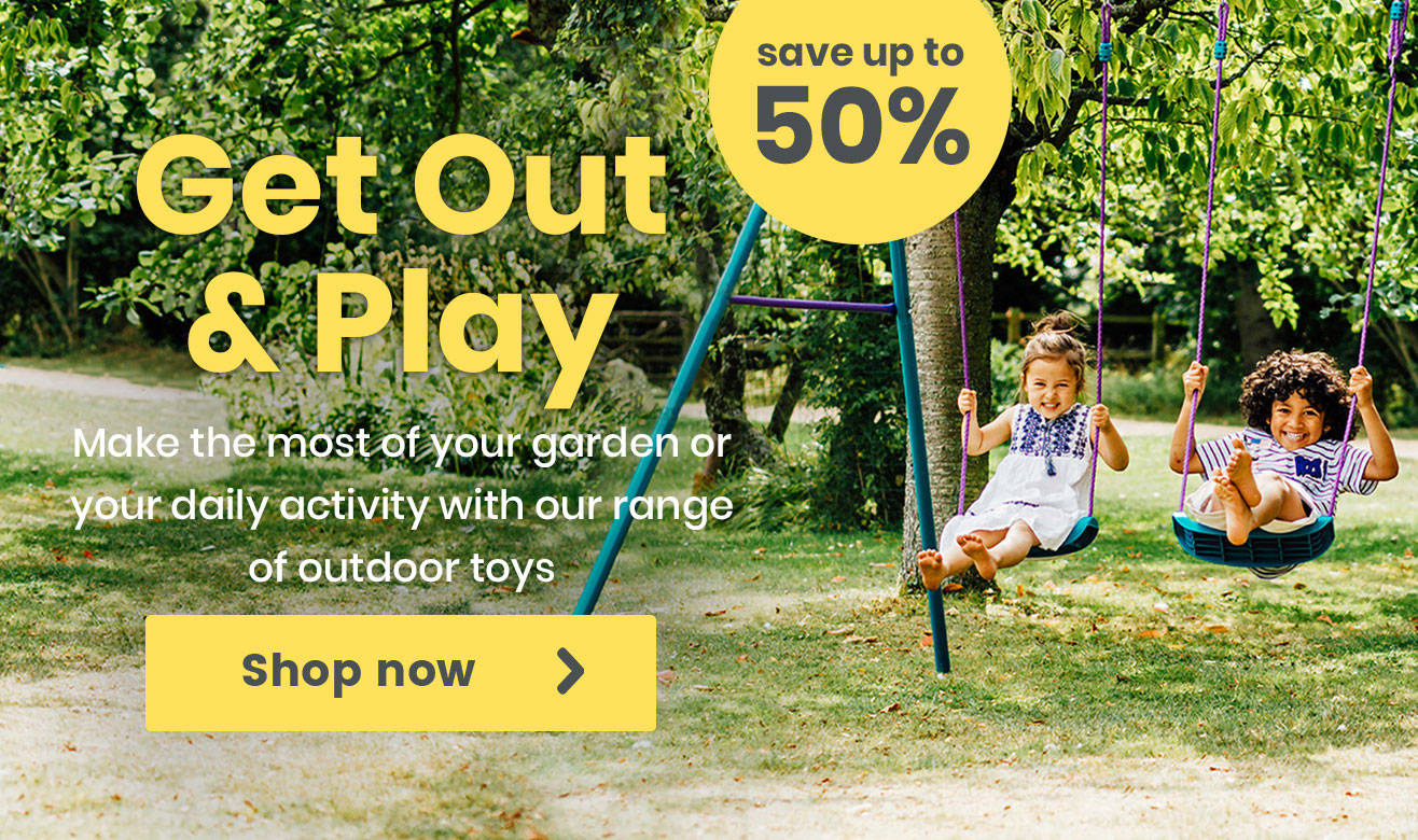 Get out and Play and Save up to 50%