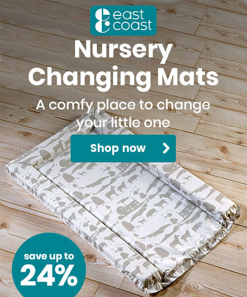 Up to 24% off East Coast Nursery Changing Mats