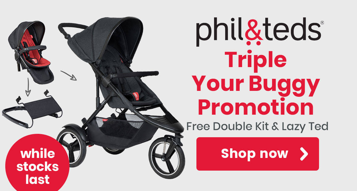 Phil & Teds pushchairs