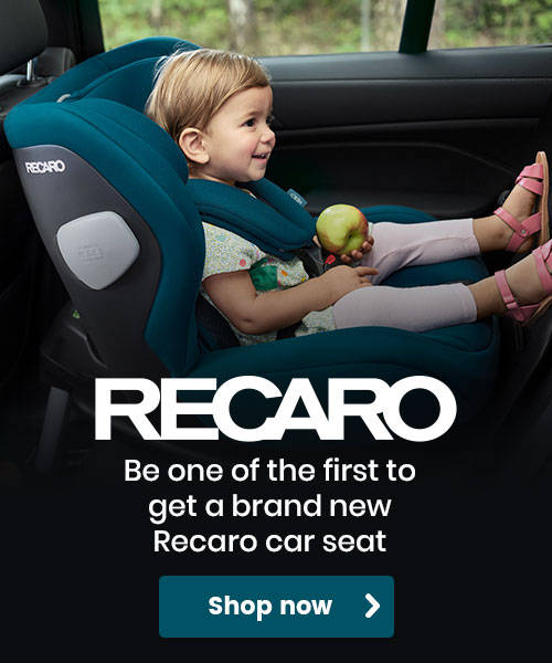 Be one of the first to get a brand new Recaro car seat