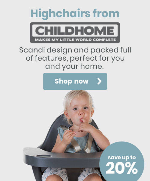 Up to 20% off Highchairs from Childhome