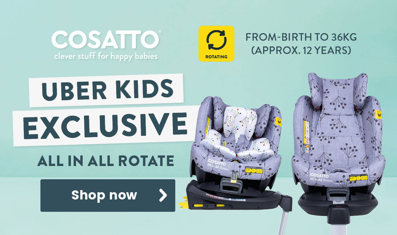 Uber Kids Exclusive - Save £20 on the All in All Rotate