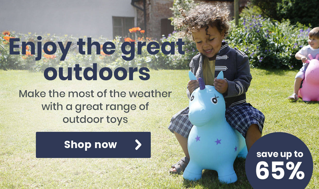 Enjoy the great outdoors with 65% off!