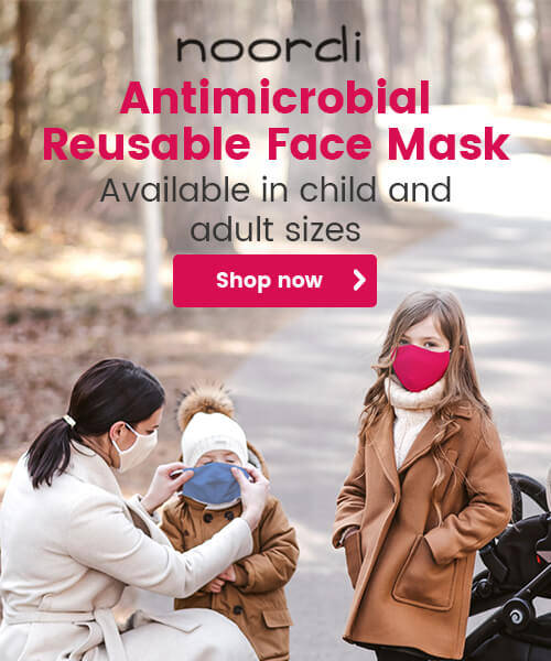 Noordi Antimicrobial Reusable Face Mask