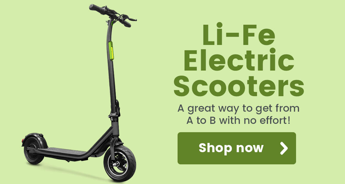 Li-Fe Electric Scooters