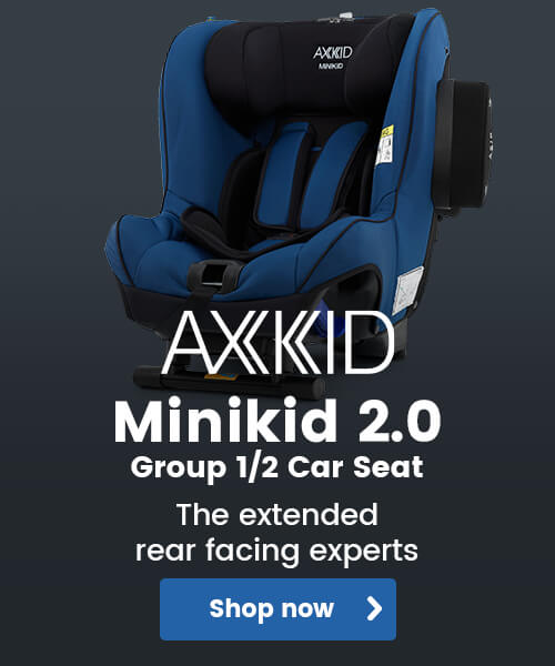 Axkid Minikid 2.0 Group 1/2 Car Seat