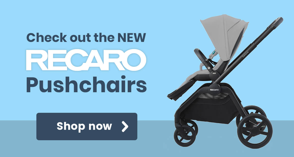 Check out the NEW Recaro Pushchairs