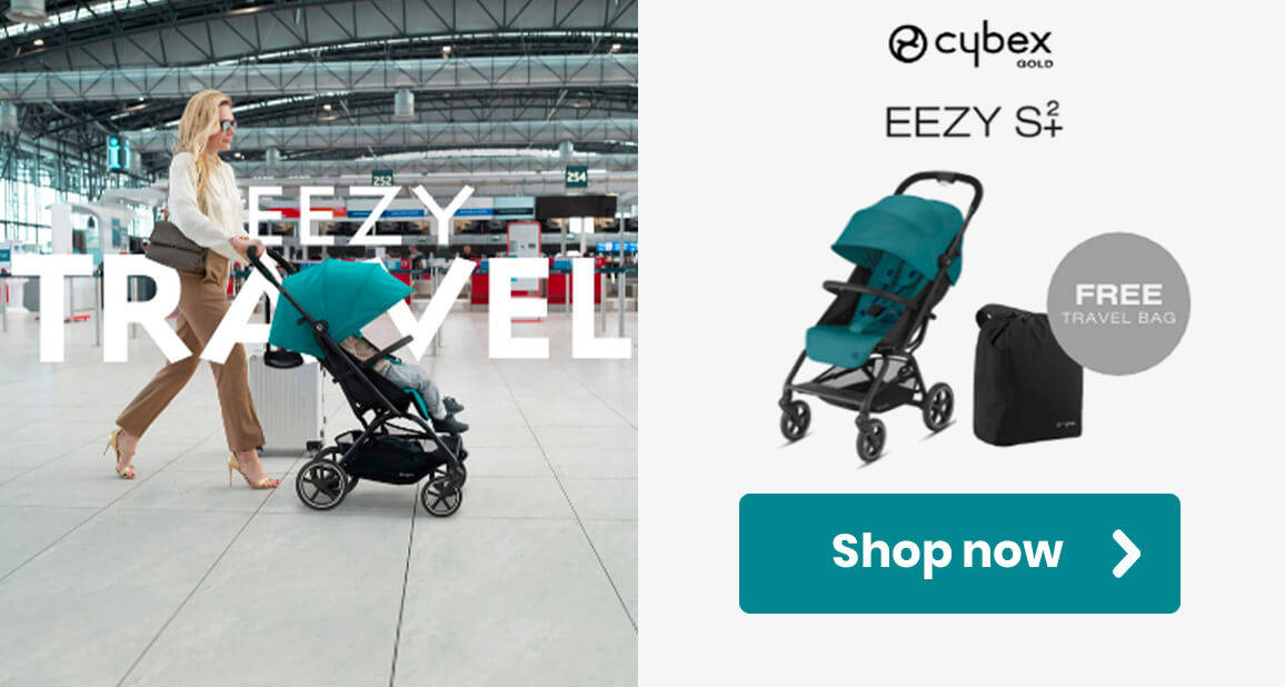 Cybex Eezy S+ with Free Travel Bag