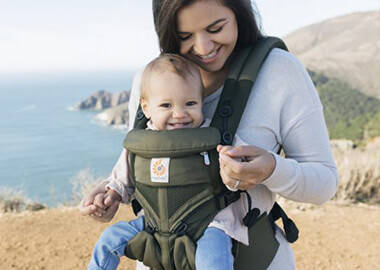 How To Get Active While Babywearing With Ergobaby!