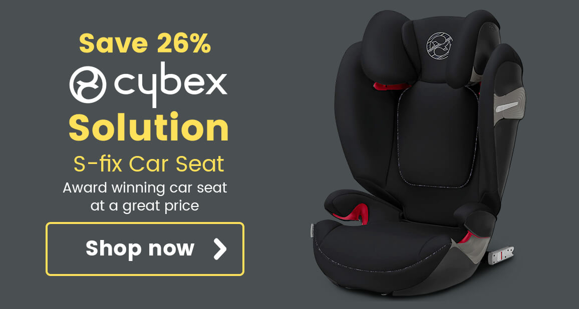 Cybex Solution S-fix Car Seat - Award winning car seat at a great price