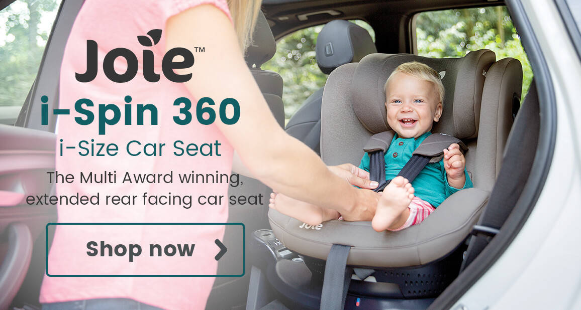 Joie i-Spin 360 i-Size Car Seat - The Multi Award winning, extended rear facing car seat