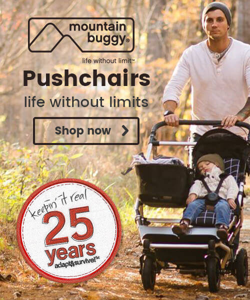 Mountain Buggy Pushchairs - life without limits