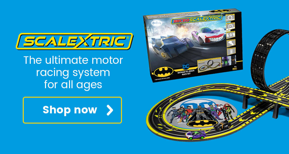 Scalextric - the ultimate motor racing system for all ages