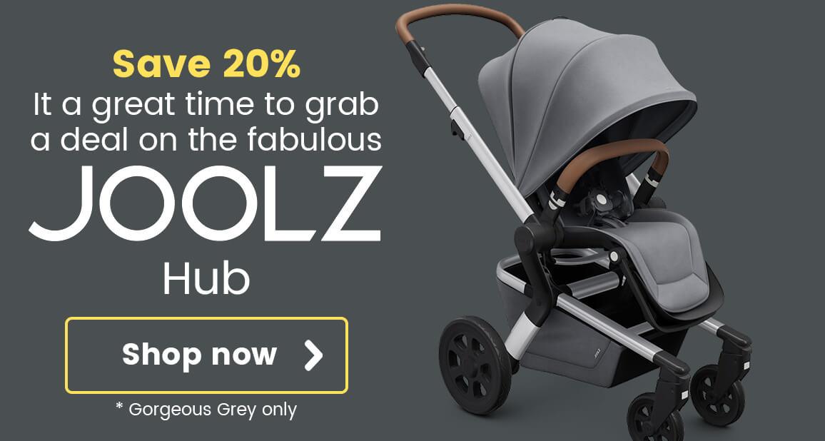 Save 20% on the fabulous Joolz Hub