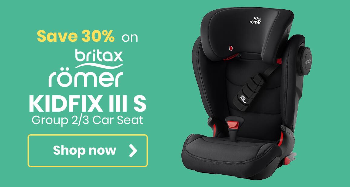 Britax Romer Kidfix III S - Buy one get one half price