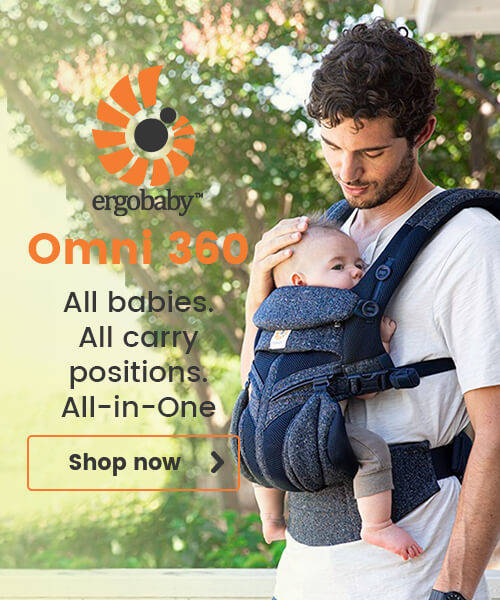 Egrobaby Omni 360 - All babies. All carry positions. All-in-One