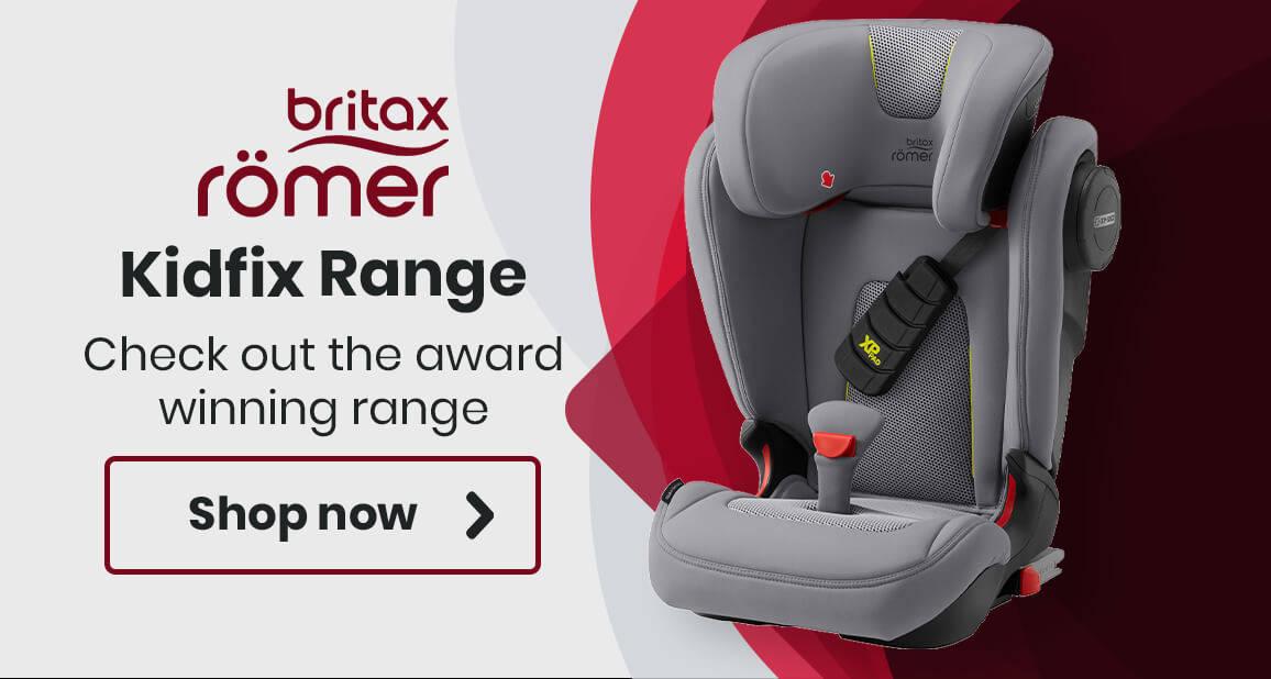 Britax Romer Kidfix Range - Check out the award winning range