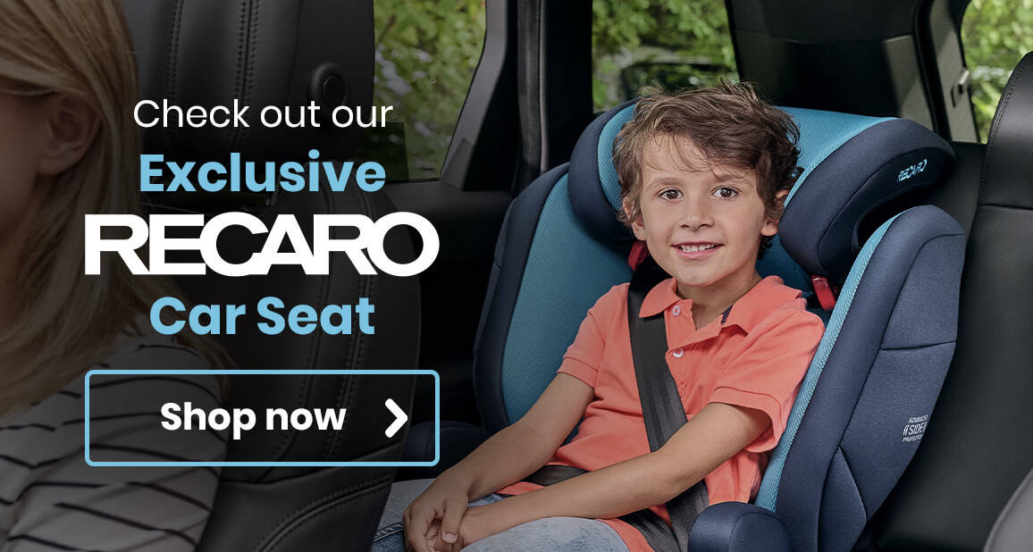 Check out our Exclusive Recaro Car Seat