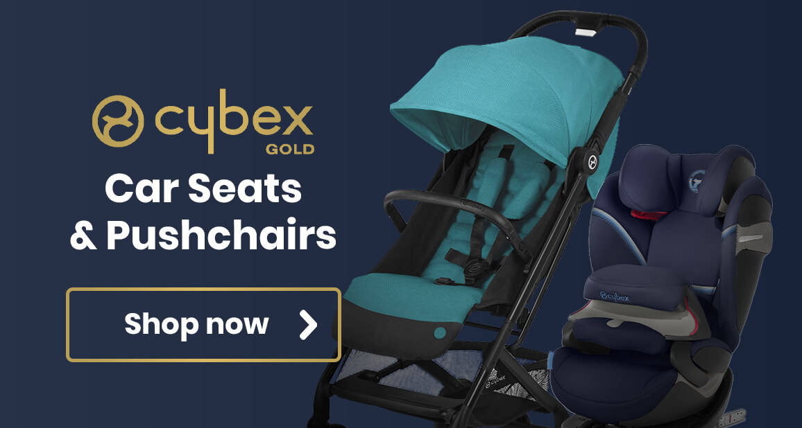 Cybex Gold Range Car Seats and Pushchairs