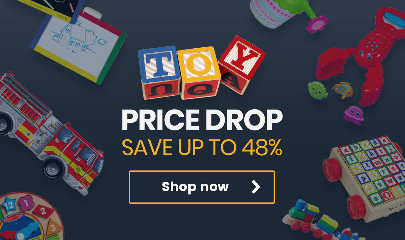 Save up to 48% in our Toy Price Drop