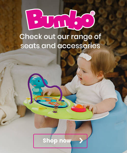 Bumbo - check out our range of seats and accessories