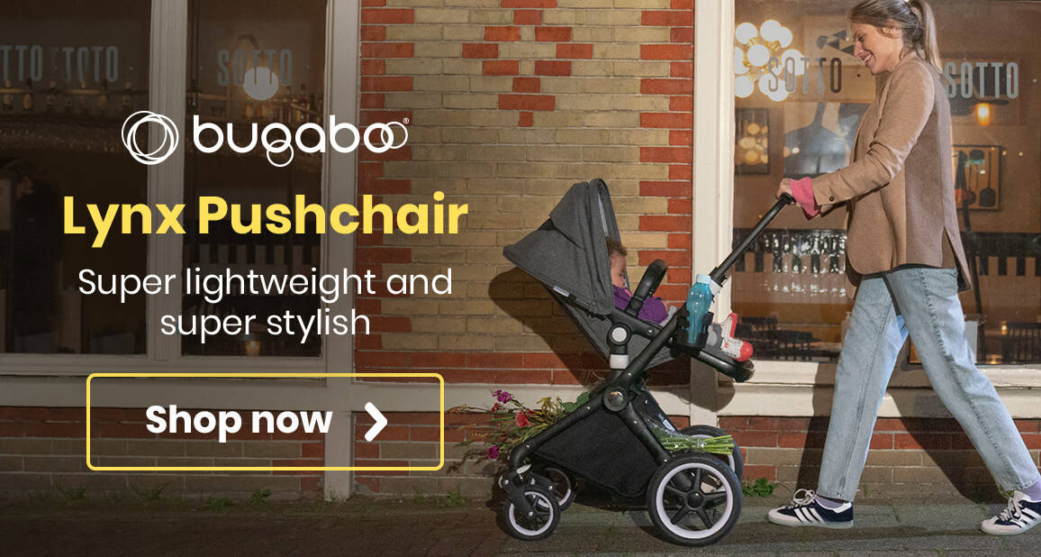 Bugaboo Lynx Pushchair - Super lightweight and super stylish