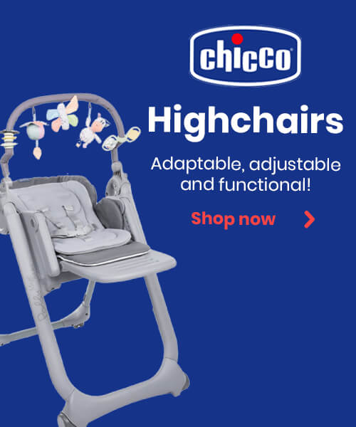 Chicco Highchairs - Adaptable, adjustable and functional!