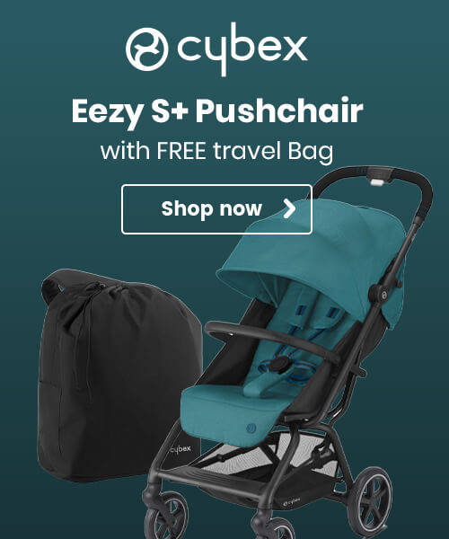 Cybex Eezy S+ Pushchair with FREE travel bag