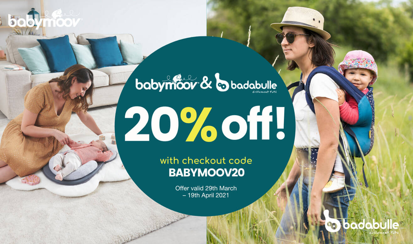 20% Off Babymoov & Badabulle