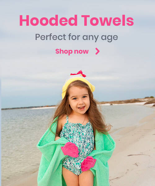 Hooded Towels - perfect for any age