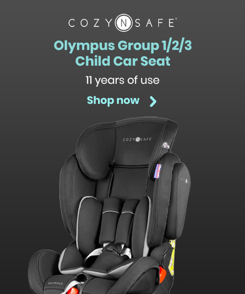 Cozy N Safe Olympus Group 1/2/3 Child Car Seat