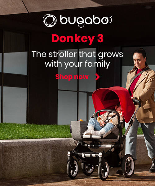 Bugaboo Donkey 3 - The stroller that grows with your family