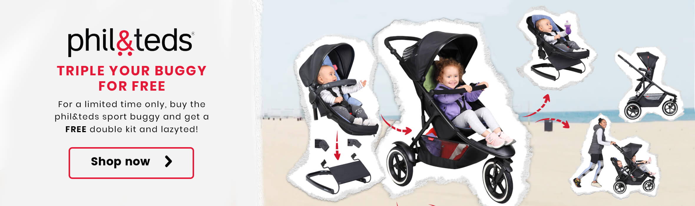 Triple your Phil & Ted's Buggy for Free!