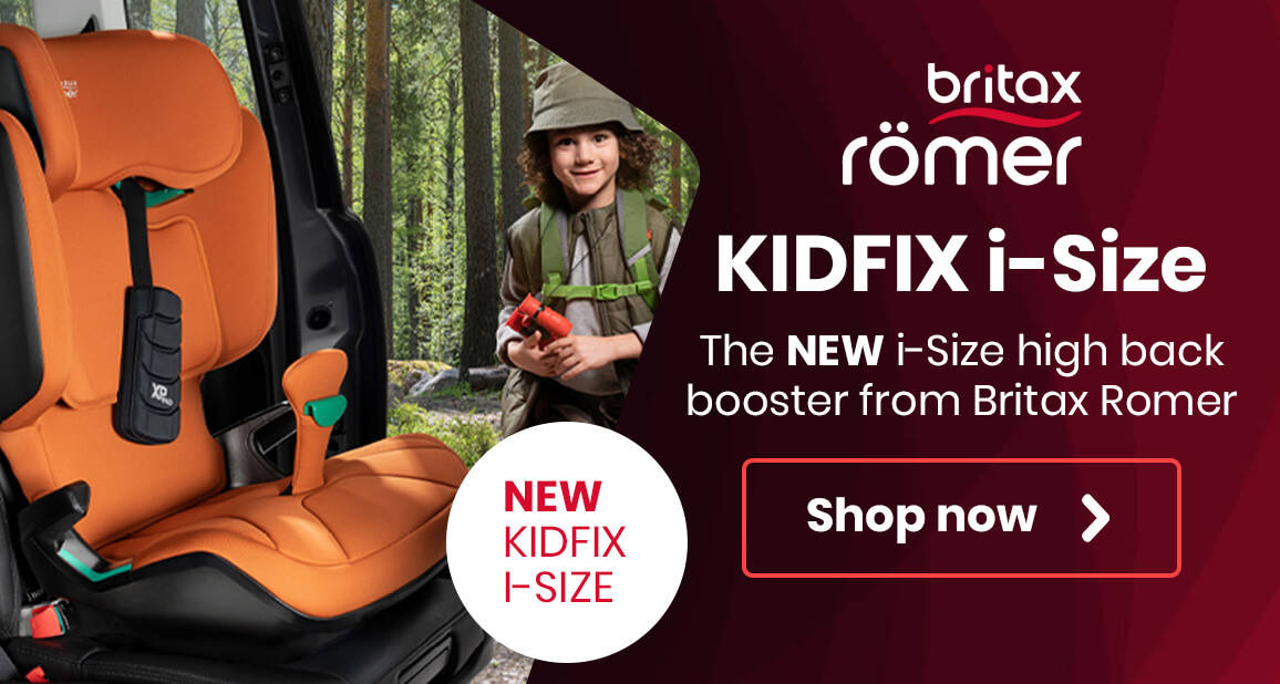 The NEW i-Size high back booster from Britax Romer