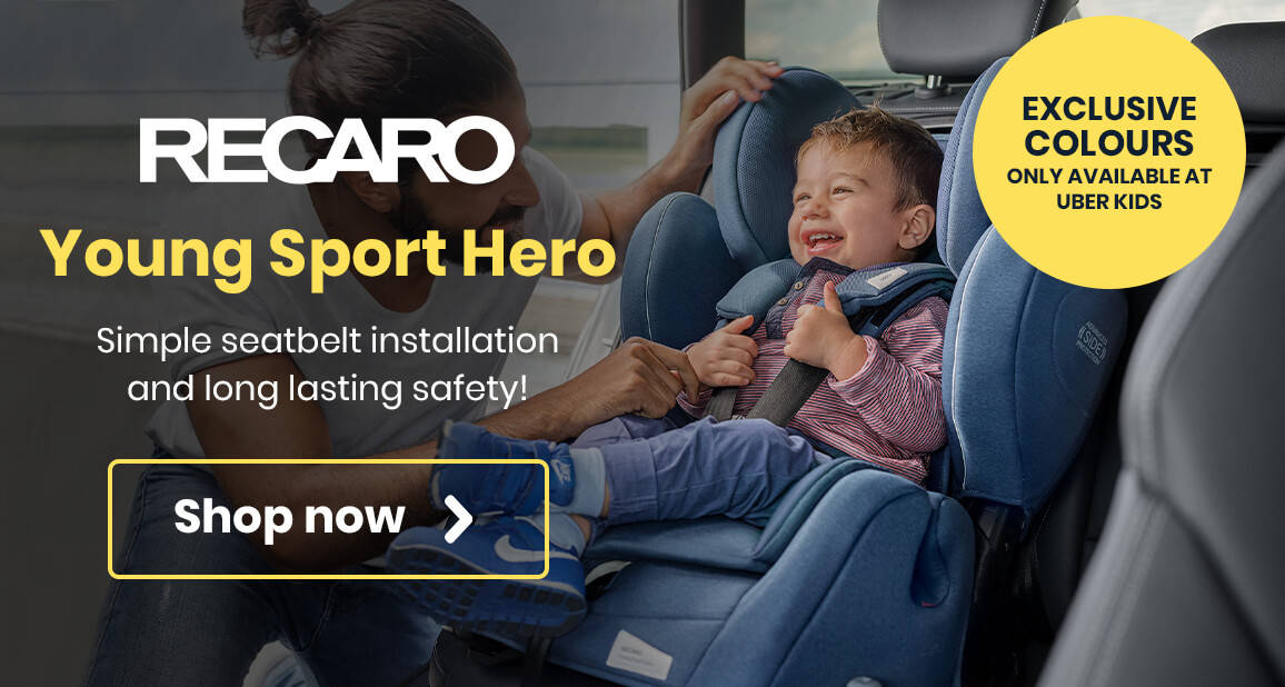 Recaro Young Sport Hero - Simple seatbelt installation and long lasting safety!