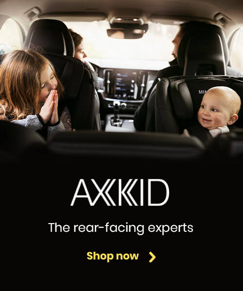 Axkid - The rear-facing experts