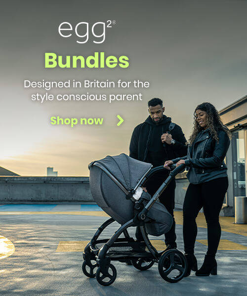 Egg2 Bundles - Designed in Britain for style conscious parent