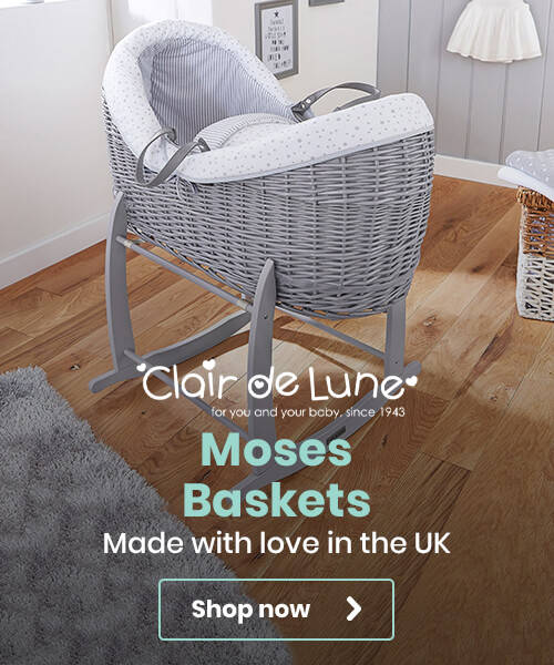 Clair de Lune Moses Baskets - Made with love in the UK