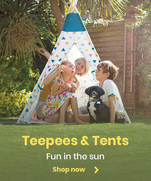 Teepees & Tents - Fun in the sun